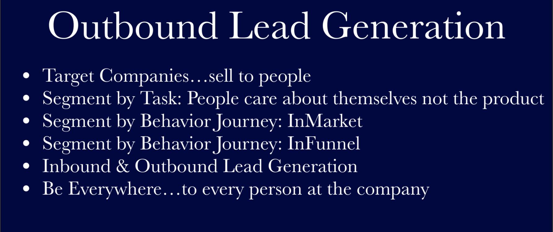 outbound lead gen